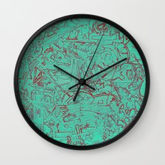 Aumcolored Wall Clock