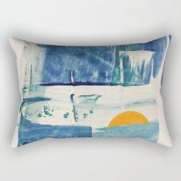 The Mid-April Sunrise Rectangular Pillow