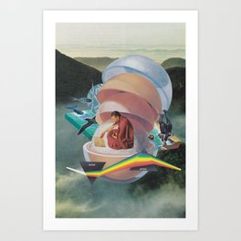 Open Book, Open World Art Print