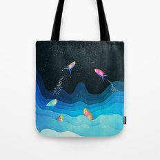 Come to reach the stars Tote Bag