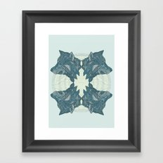 Wolf Pack Framed Art Print