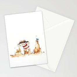 Sandcastleday Stationery Cards