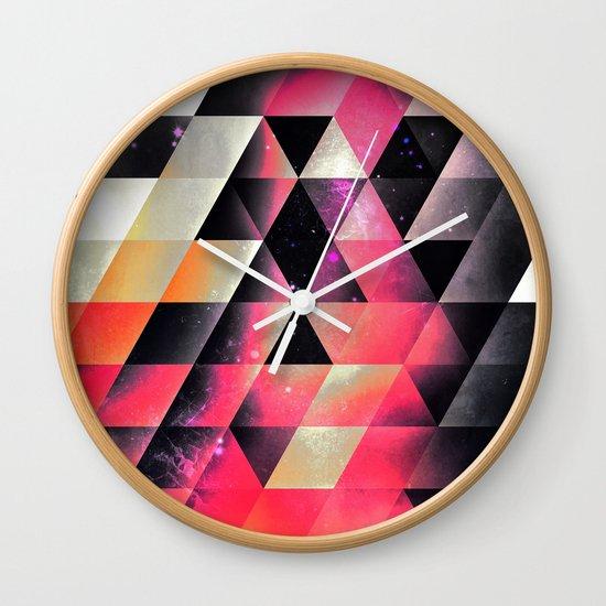 fyrlyrne fyyrth Wall Clock