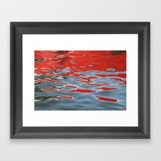 Reflections on Water Framed Art Print