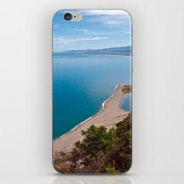 White Lagoon of Tindari on the Isle of Sicily iPhone Skin
