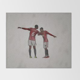 Duo MU Throw Blanket