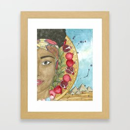 Puah Framed Art Print