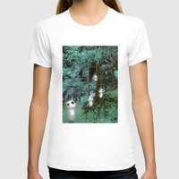 kodama T-shirts featuring Kodama in the woods by pkarnold + The Cult Print Shop