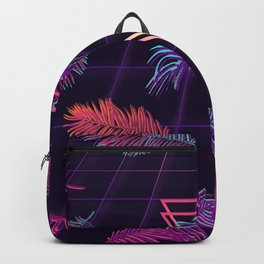 80's Retro Cyberpunk Synthwaves Dominating the Future Backpack