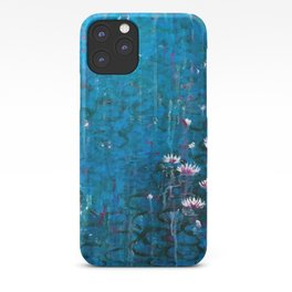 Water lilies in Venice iPhone Case
