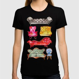 Victorian Lounge – Rainbow Palette T-shirt