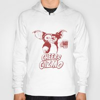 gizmo Hoodies featuring Cheers Gizmo by Roma