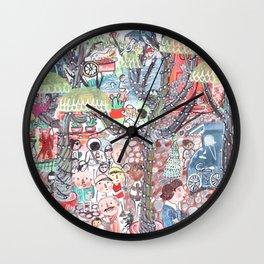 To Market To Market Wall Clock