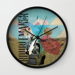 Unshackled, Troublemaker by Lendi Hader Wall Clock