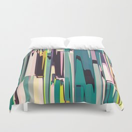 Abstract Composition 640 Duvet Cover