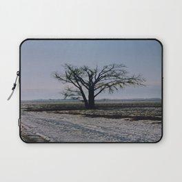 Minnesota Winter- Tree - on the way to Marshall - Wild Veda Laptop Sleeve