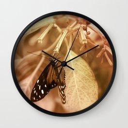Tiger Longwing Wall Clock