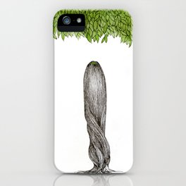The  sky over me  iPhone Case