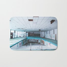 Abandoned Pool Bath Mat