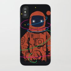 Circles In SPACE Slim Case iPhone X