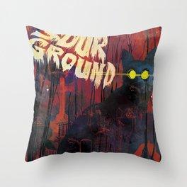 Sour Ground - Pet Sematary Tribute Throw Pillow