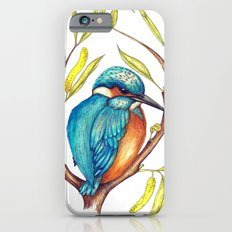 Kingfisher on Willow iPhone 6s Slim Case