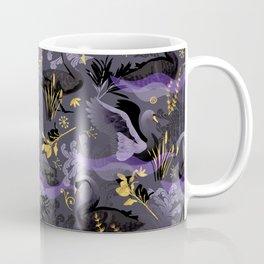 Black swans   dark Coffee Mug