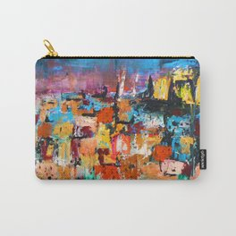 Lisbon by night Carry-All Pouch