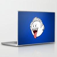 boob Laptop & iPad Skins featuring Boo Einstein by Olechka