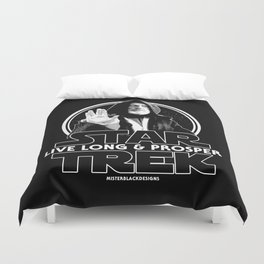 Live Long & Nerd Rage Duvet Cover