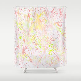 Flying Fire Shower Curtain