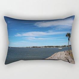 Matanzas River II Rectangular Pillow