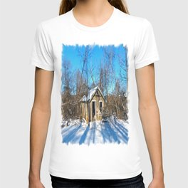Old House in the Snow T-shirt