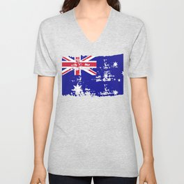 Australia Downunder Melbourne Gift Sydney Unisex V-Neck