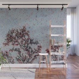 Sakura Moss Agate Wall Mural