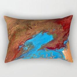 Arizona Agate Slab Rectangular Pillow