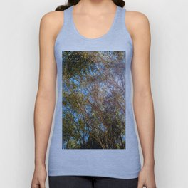 Trees and Flare Unisex Tank Top