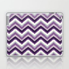 Ikat Chevron: Purple Tonal  Laptop & iPad Skin