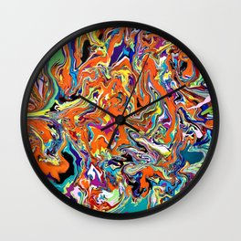 Psychedelic Dream Wall Clock