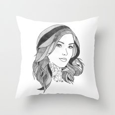 Inked 2 Throw Pillow