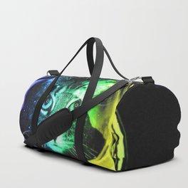 Space Cat Duffle Bag