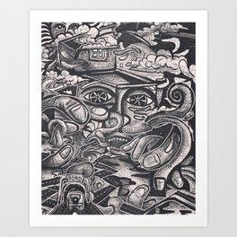 Wandering Mind Art Print
