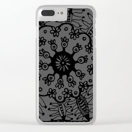 10 eyes Clear iPhone Case
