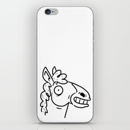 Mr Horse iPhone Skin