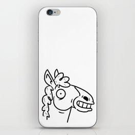 Mr Horse iPhone Skin