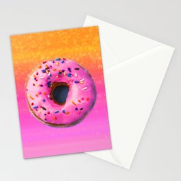 Donut color Stationery Cards