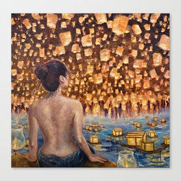 Night of One Thousand Lights Canvas Print