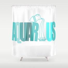 AQUARIUS - The Water Bearer Shower Curtain