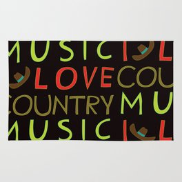 country music Rug