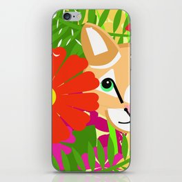 Rousseau's Cat iPhone Skin